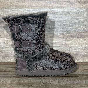 UGG Skylah Brown Boot Sz- 7